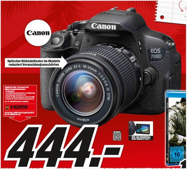 Canon EOS 700D bei Media Markt