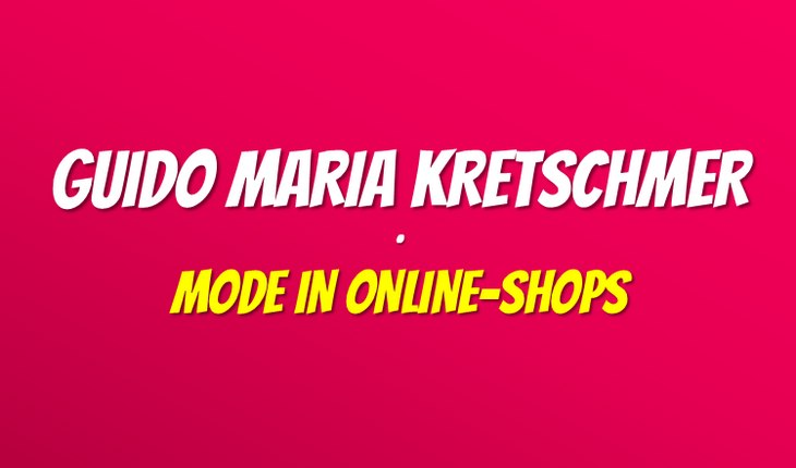 Guido Maria Kretschmer Online-Shop