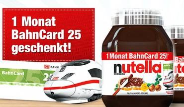 Nutella BahnCard