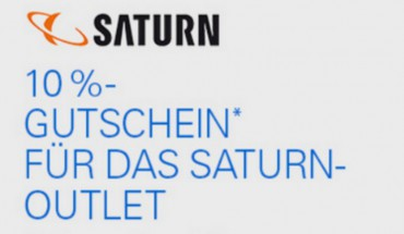 Saturn Outlet-Gutschein mit 10 Prozent Rabatt