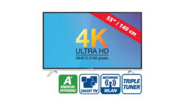 Tcl U55s6806s Fernseher Real Angebot Ab 2262015