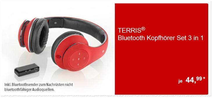 Terris Bluetooth Kopfhörer BKH 252 bei ALDI Süd