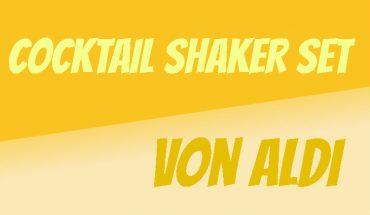 ALDI Cocktail Shaker