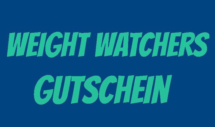 Weight Watchers Gutschein