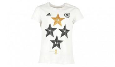 Adidas 4-Sterne-T-Shirt