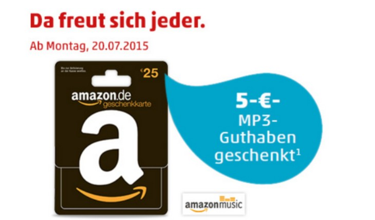 Amazon Music Gutschein Aktion bei PENNY