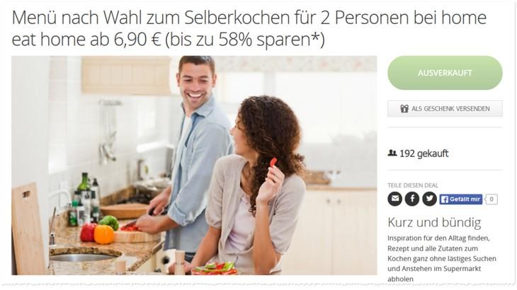 Home eat home Gutschein bei Groupon