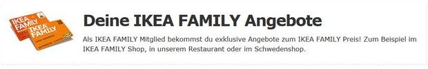 IKEA Family Angebote