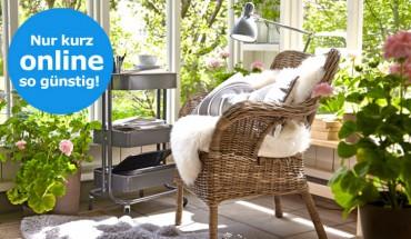IKEA Online-Angebote mit Rattan-Sessel