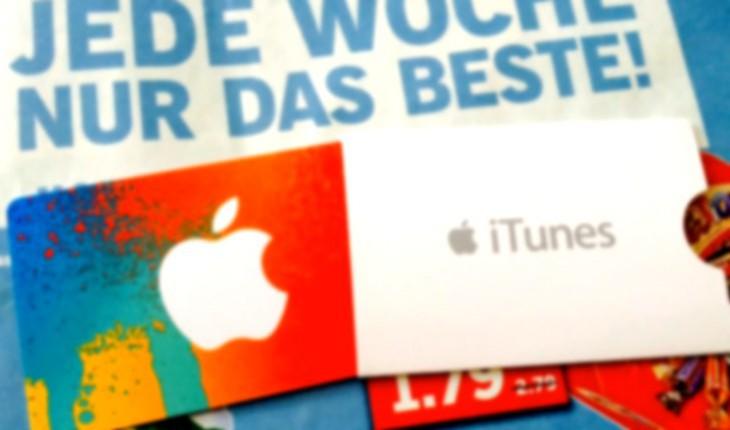 iTunes Karten-Rabatt