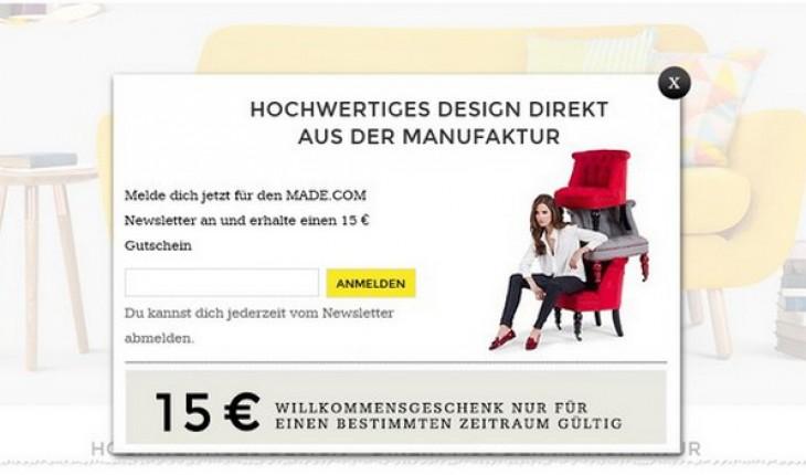 made gutschein g nstiger online m bel kaufen. Black Bedroom Furniture Sets. Home Design Ideas