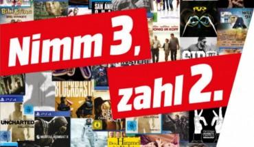 Media Markt 3 für 2