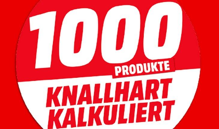 Media Markt Werbung: 1000 Produkte »Knallhart kalkuliert!«