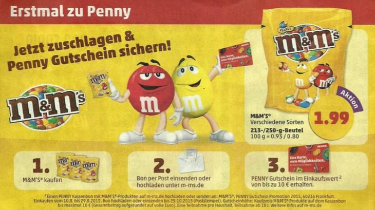 PENNY Gutschein für MundMs-Kauf