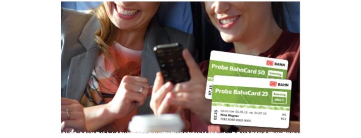 Probe BahnCard 2015