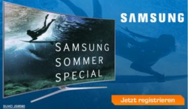 Samsung Sommer-Special-Bonus