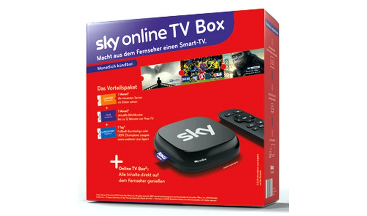 Sky Online-TV-Box