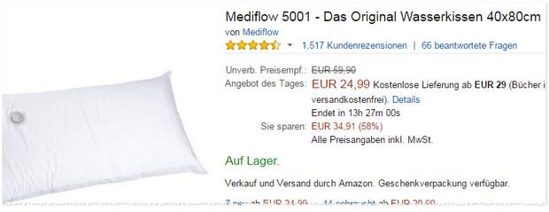 Mediflow Wasserkissen