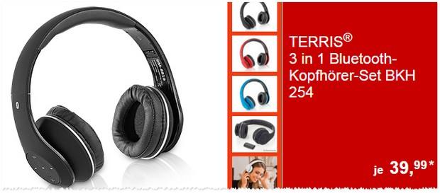 Terris Bluetooth Kopfhöerer BKH 254