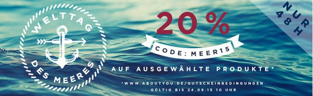 About You Gutschein. 20% Rabatt