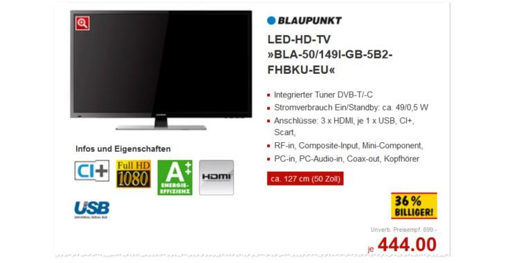 Blaupunkt Fernseher BLA-50/149I-GB-5B2-FHBKU-EU