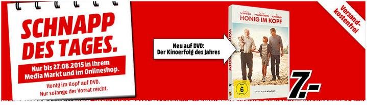 Honig im Kopf DVD als Schnapp des Tages für 7 €