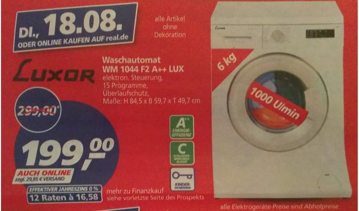 Luxor Waschmaschine WM 1044