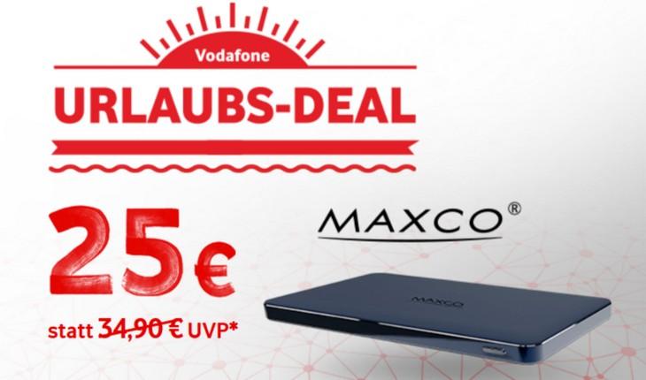 Maxco Powerbank bei Vodafone