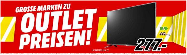 Media Markt: »Große Marken zu Outlet-Preisen«