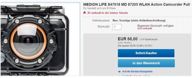 Medion Life S47018 MD 872015 als B-Ware