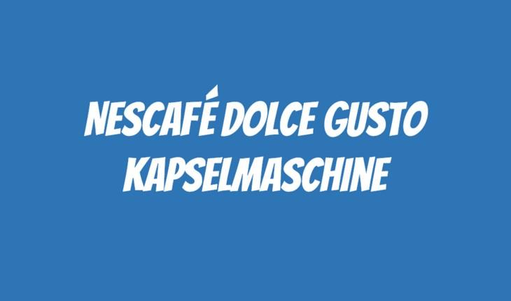 Nescafé Dolce Gusto Maschine gratis als PENNY Angebot ab  -> Kaffeemaschine Penny