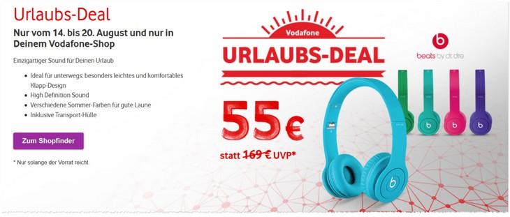 Vodafone Deal der Woche mit Beats Kopfhörern
