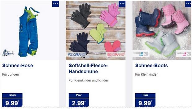 Kinder Winterbekleidung bei ALDI Nord als Angebot am 30.11.2015
