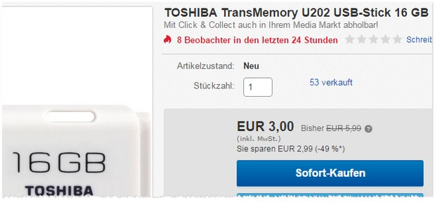 Media Markt USB-Stick