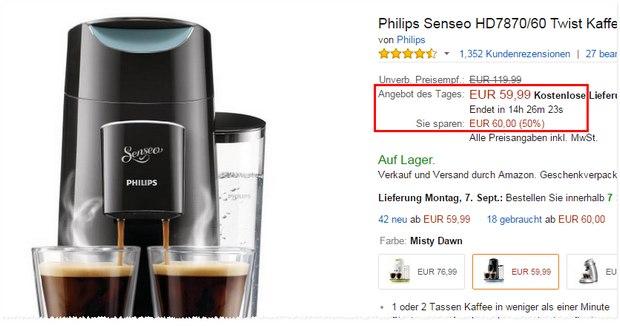 Philips Senseo Twist HD 7870/60