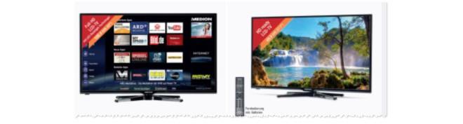 ALDI Fernseher neu am 29.10.2015 bei ALDI Nord