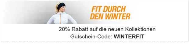 Amazon Winterfit Gutschein
