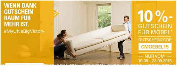 eBay Möbel-Gutschein