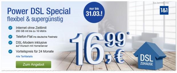 GMX Power DSL Special