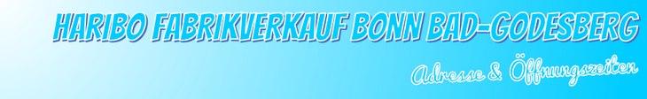 Haribo Fabrikverkauf Bonn: Öffnungszeiten & Adresse