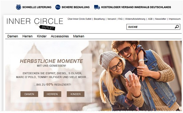 Avantime wird zum Inner Circle Outlet bei eBay