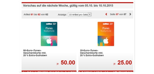 itunes karten rabatt ab 6 aktionen mit guthaben. Black Bedroom Furniture Sets. Home Design Ideas