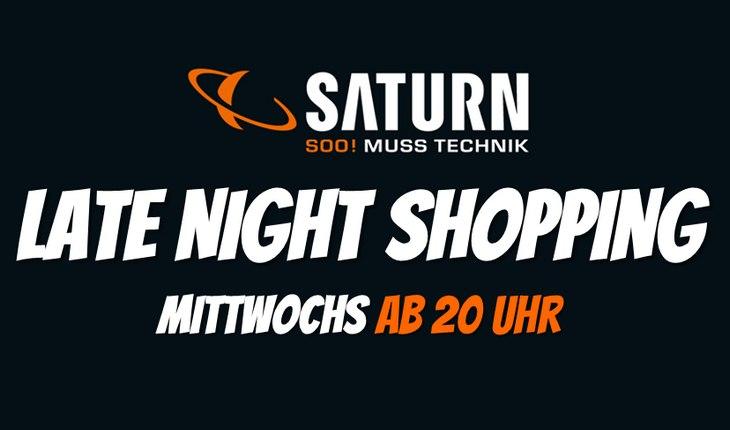Saturn Late Night Shopping