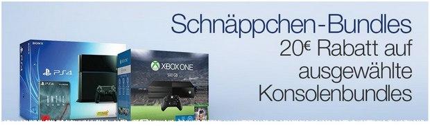 PlayStation 4 Schnäppchen-Bundles bei Amazon