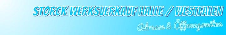 Storck Werksverkauf in Halle (Westfalen) - Adresse & Öffnungszeiten