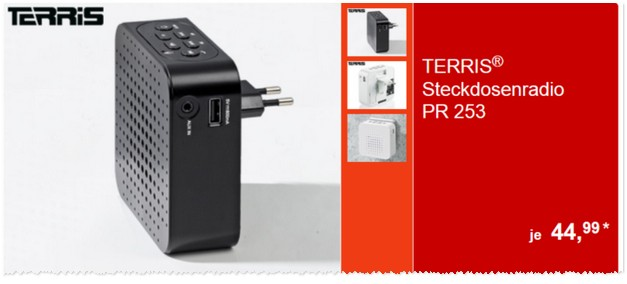ALDI Steckdosenradio PR 253 als ALDI Angebot