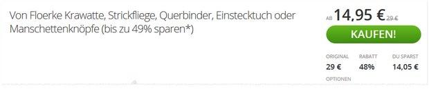 Von Floerke Groupon-Gutschein