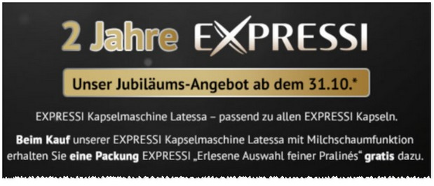 ALDI Expressi-Angebot