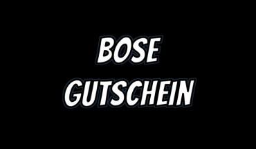 Bose Gutschein