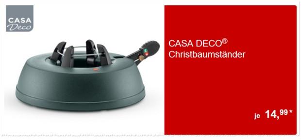 Casa Deco Christbaumständer als ALDI Süd Angebot